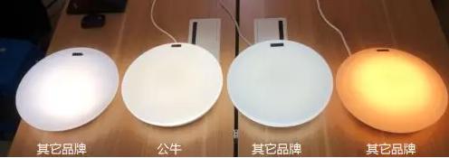 定制配光方案+光学级别透镜,保障公牛爱眼LED吸顶灯产品光线均匀无暗区。